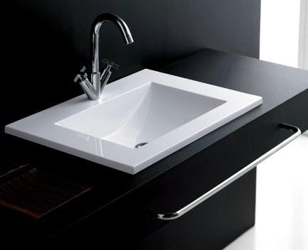 einbauwaschbecken monte carlo 600 mm perfecto design. Black Bedroom Furniture Sets. Home Design Ideas