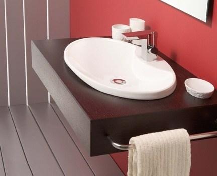 einbauwaschbecken wave perfecto design. Black Bedroom Furniture Sets. Home Design Ideas