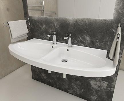 waschtisch h ngend nau perfecto design. Black Bedroom Furniture Sets. Home Design Ideas