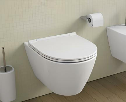 wc h ngend sanlife 380 x 560 rimless perfecto design. Black Bedroom Furniture Sets. Home Design Ideas