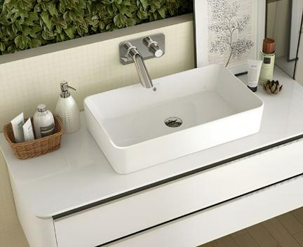 waschbecken sanilife 600 x 400 x 122 waschbecken. Black Bedroom Furniture Sets. Home Design Ideas