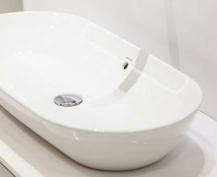 waschbecken sanilife 600 x 380 x 125 waschbecken. Black Bedroom Furniture Sets. Home Design Ideas
