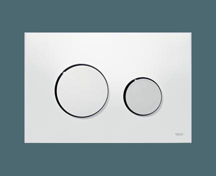 tece loop wc bet tigungsplatte f r zweimengentechnik wei. Black Bedroom Furniture Sets. Home Design Ideas