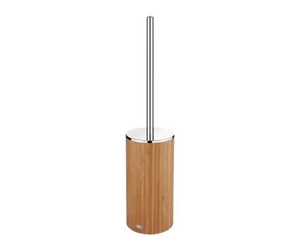 wc b rste nibu mit beh lter stehend bambus hell perfecto design. Black Bedroom Furniture Sets. Home Design Ideas