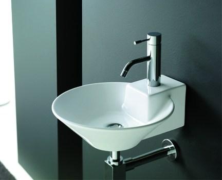 aufsatzwaschtisch oder h ngend biarritz weiss perfecto design. Black Bedroom Furniture Sets. Home Design Ideas
