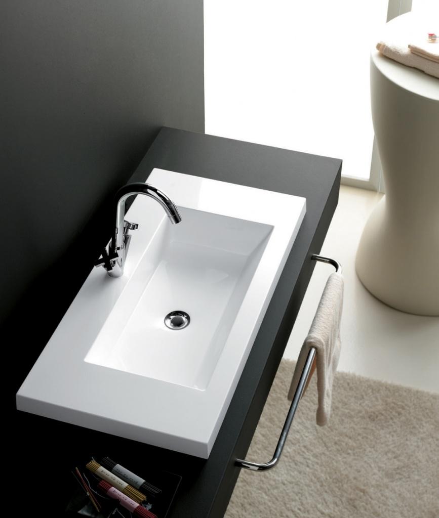 einbauwaschbecken colloto 600 mm perfecto design. Black Bedroom Furniture Sets. Home Design Ideas