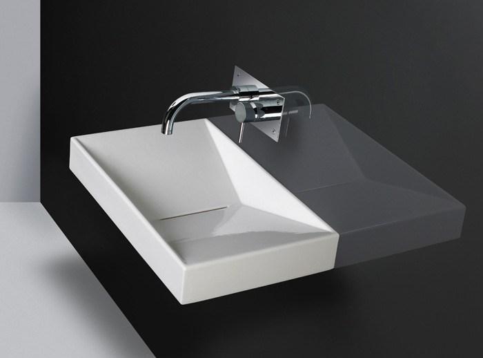 aufsatzwaschtisch oder h ngend flux 65 perfecto design. Black Bedroom Furniture Sets. Home Design Ideas