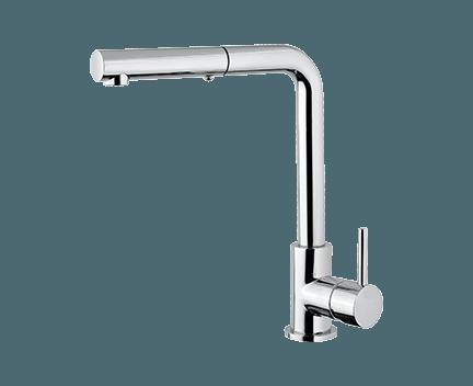 Küchenarmatur MICRO | Stand | mit ausziehbarer Brause | Perfecto design