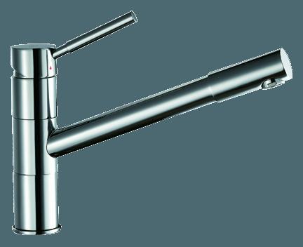 Küchenarmatur CAE 370, mit herausziehbarer Brause | Perfecto design