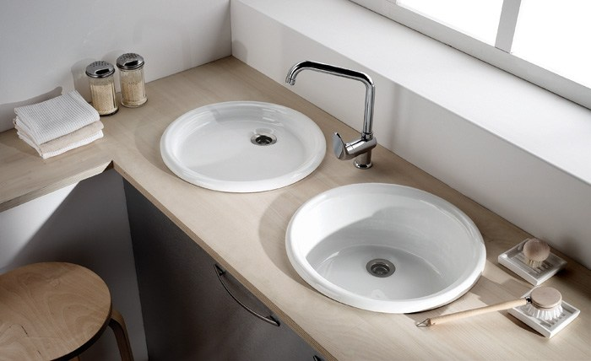 einbauwaschbecken cuba perfecto design. Black Bedroom Furniture Sets. Home Design Ideas