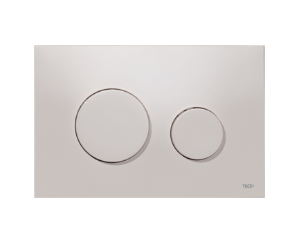 tece loop wc bet tigungsplatte f r zweimengentechnik grau. Black Bedroom Furniture Sets. Home Design Ideas