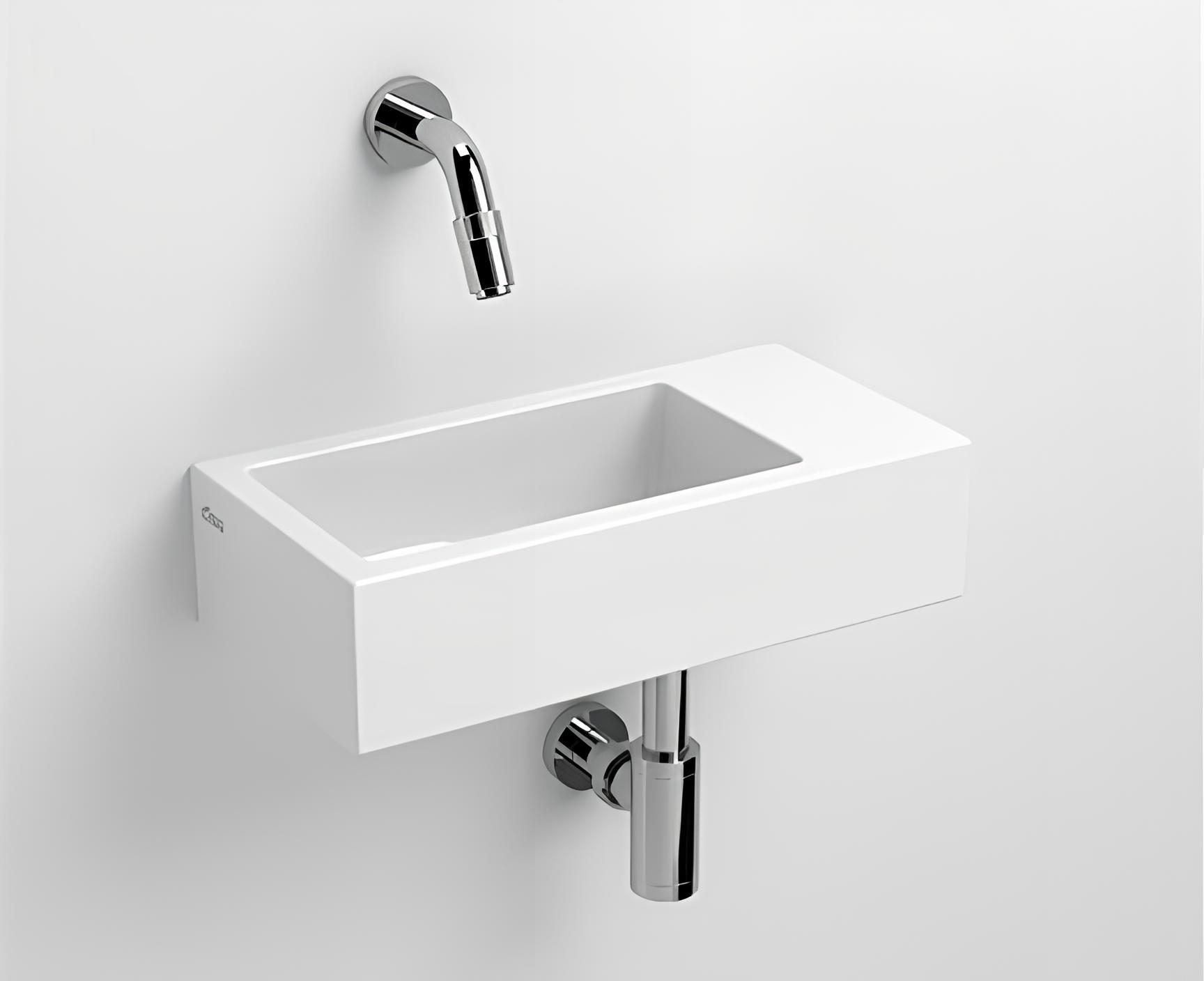 waschbecken h ngend flush 360 x 180 x 90 wei perfecto design. Black Bedroom Furniture Sets. Home Design Ideas