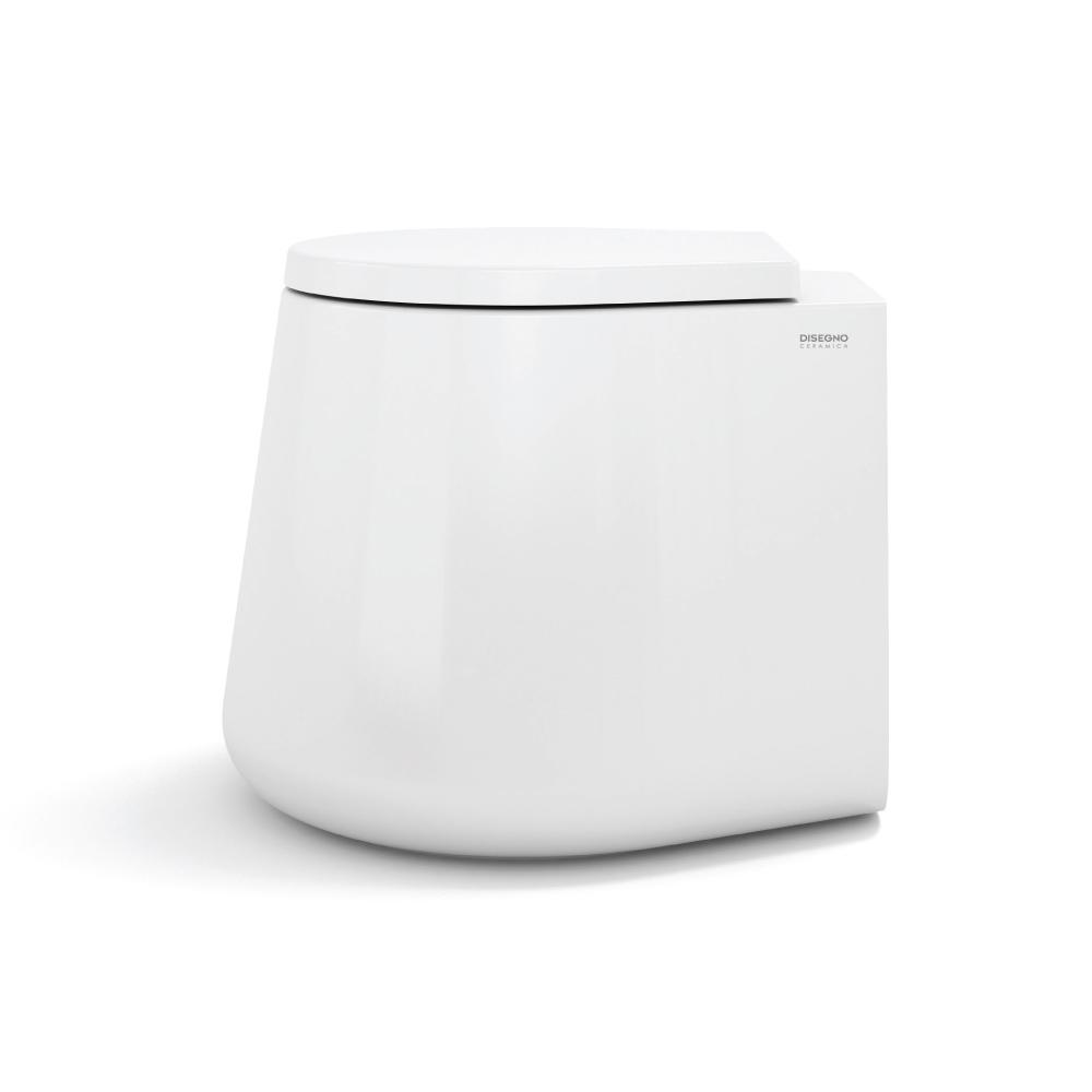 Wc catino 500 x 540 x 420 mm stehend weiß abfluß in den fußboden