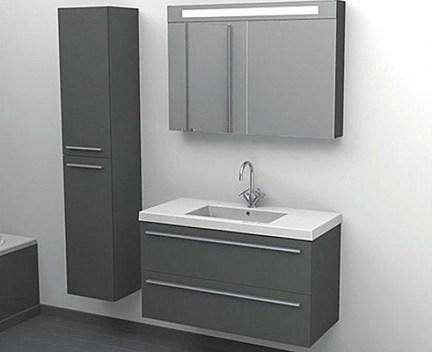 waschbecken bellizzi 1010x450 mm mit ffnung perfecto. Black Bedroom Furniture Sets. Home Design Ideas