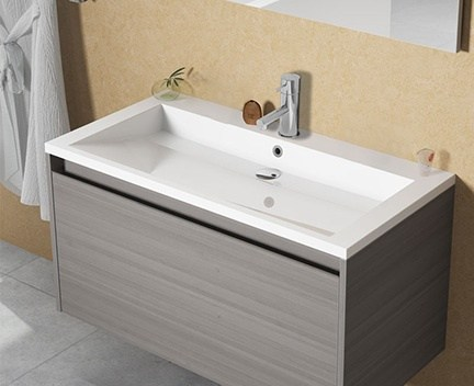 waschbecken elzas 800 x 510 mm perfecto design. Black Bedroom Furniture Sets. Home Design Ideas