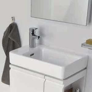 waschtisch h ngend flush 270 x 315 x 280 wei perfecto. Black Bedroom Furniture Sets. Home Design Ideas