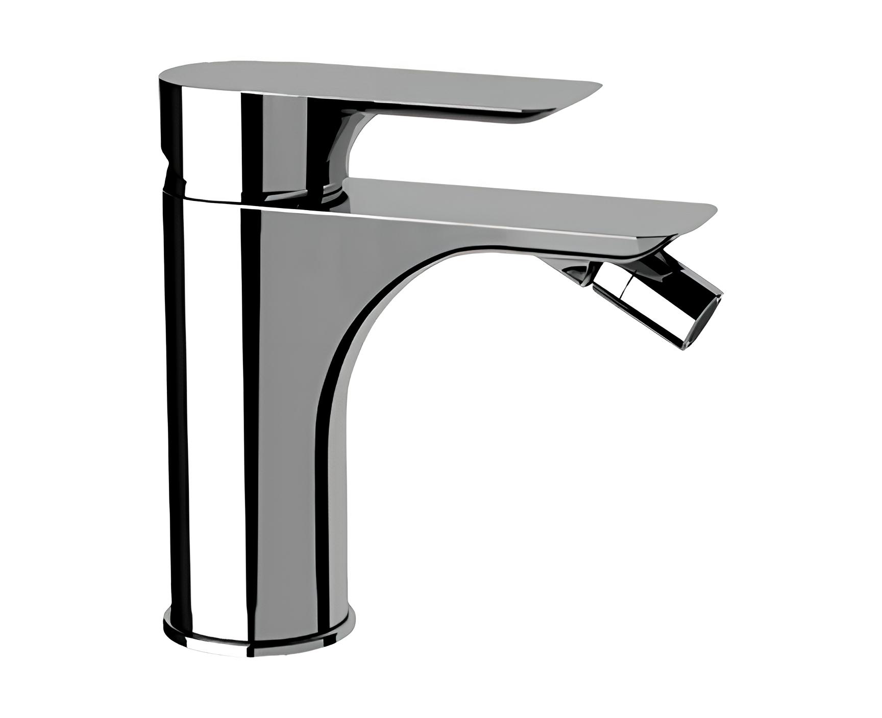 Bidetarmatur Infinity Ohne Abflusskappe Hebel Stehend Perfecto Design