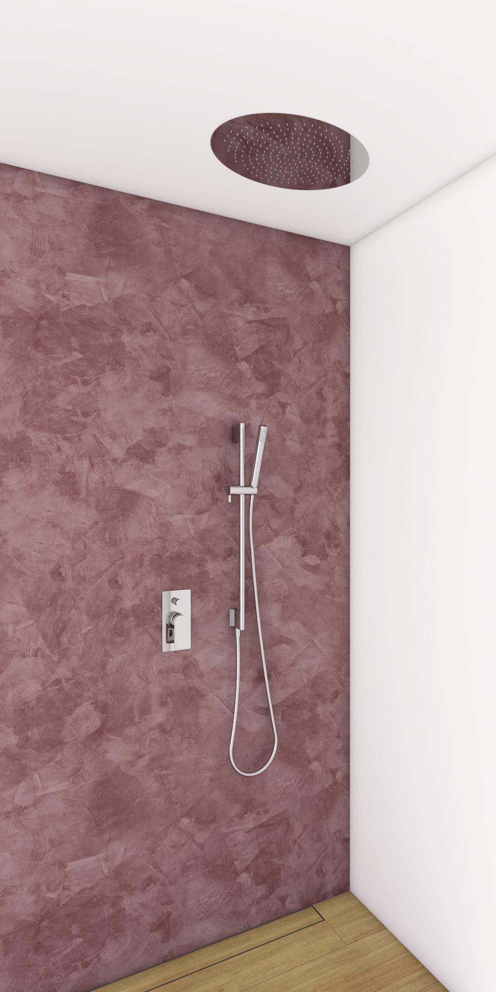 dusch set infinity hebel unterputz mit eingebautem duschkopf aus edelstahl 330x480mm und. Black Bedroom Furniture Sets. Home Design Ideas