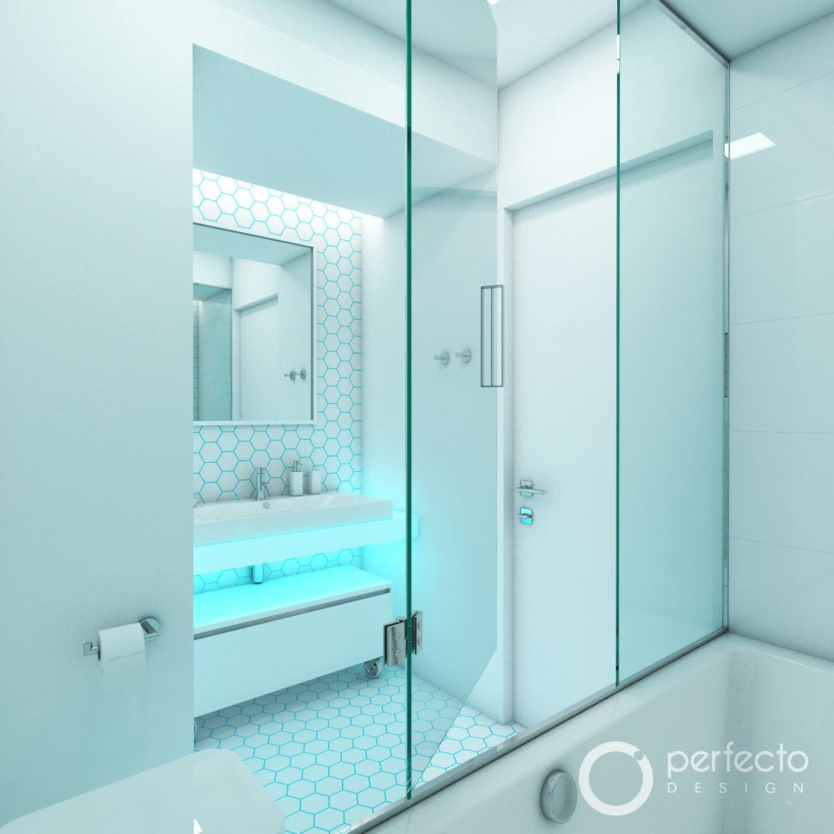modernes badezimmer polar perfecto design. Black Bedroom Furniture Sets. Home Design Ideas
