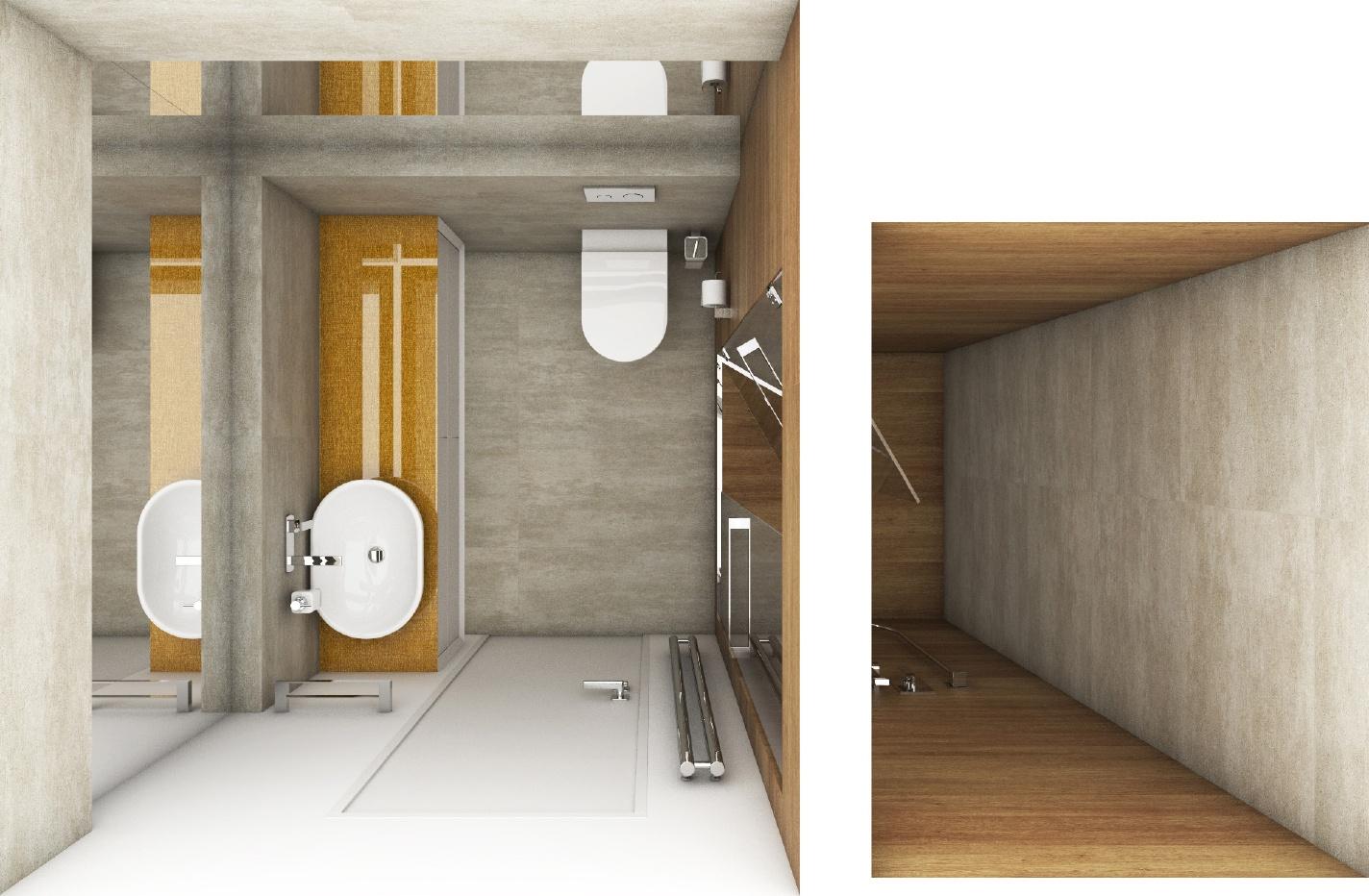 Modernes badezimmer cross gold perfecto design - Moderne badezimmer grundrisse ...