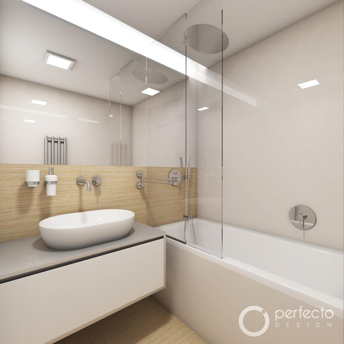 Modernes Badezimmer SILK - Visualisierung