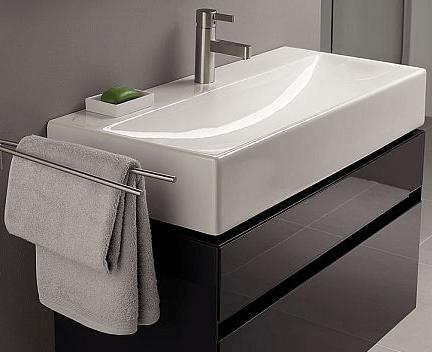 waschbecken quattro perfecto design. Black Bedroom Furniture Sets. Home Design Ideas