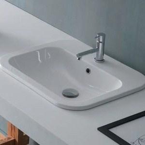 Waschbecken Eingelassen Form Rechteckig Perfecto Design