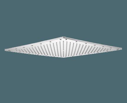 duschkopf losh eingebaut mit led beleuchtung viereckig 420x420 mm perfecto design. Black Bedroom Furniture Sets. Home Design Ideas