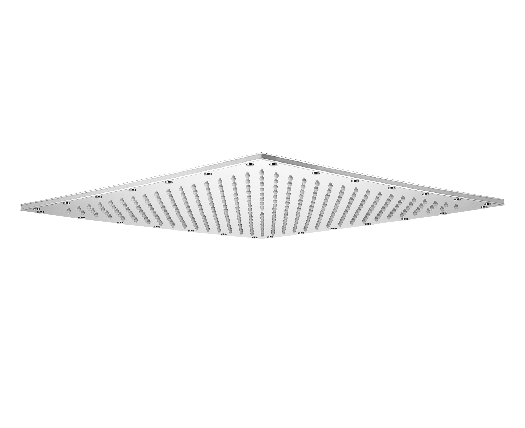 duschkopf losh eingebaut mit led beleuchtung viereckig. Black Bedroom Furniture Sets. Home Design Ideas