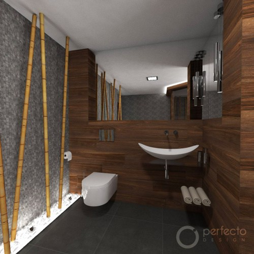 Modernes Wellness Badezimmer Zen Perfecto Design