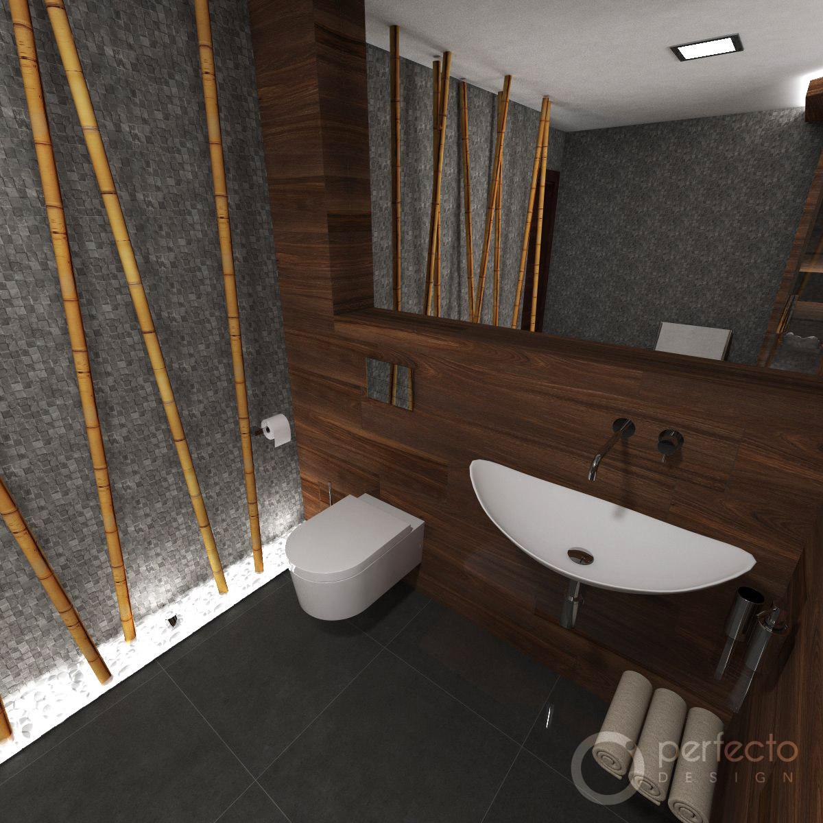 modernes wellness badezimmer zen | perfecto design, Badezimmer ideen