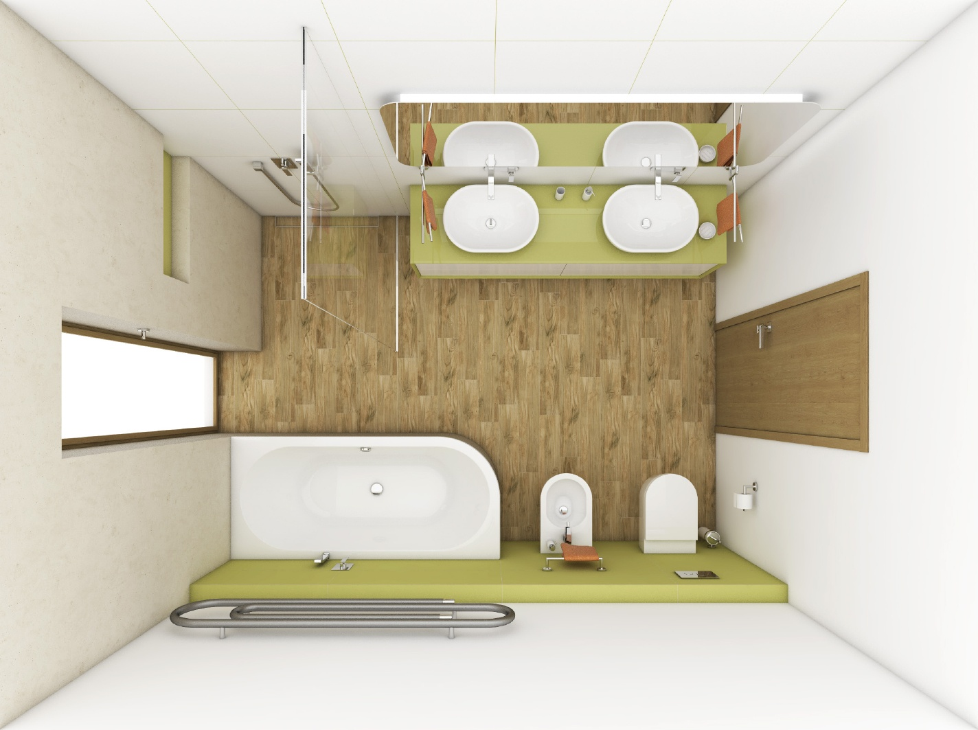 modernes badezimmer park perfecto design