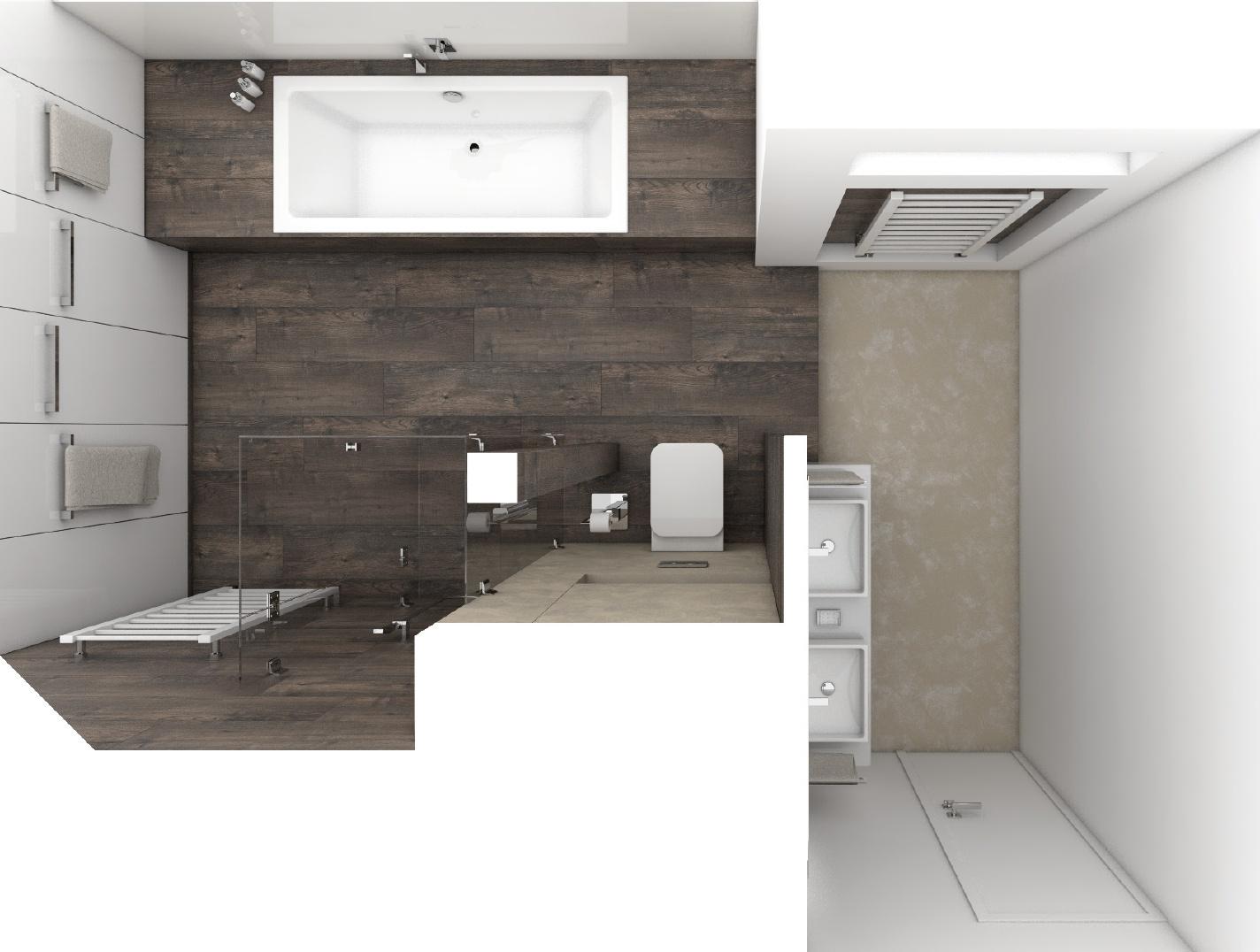 Moderne badezimmer resort perfecto design for Badezimmer grundriss modern