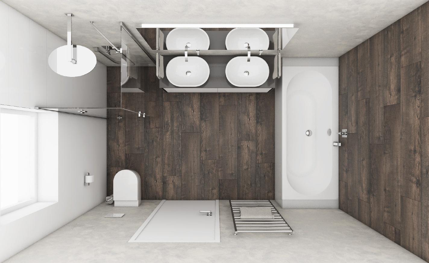 moderne badezimmer musk | perfecto design, Badezimmer ideen