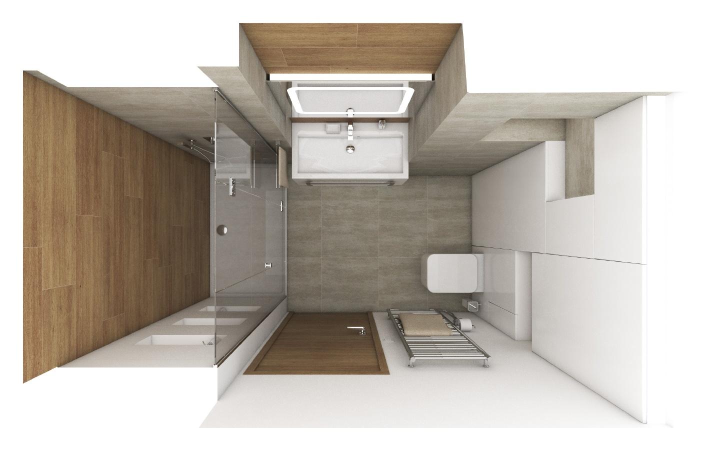 moderne badezimmer twist perfecto design