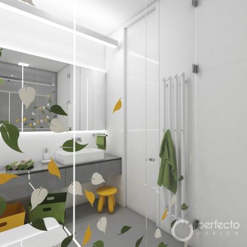 Kinder-Badezimmer JUNGLE | Perfecto design