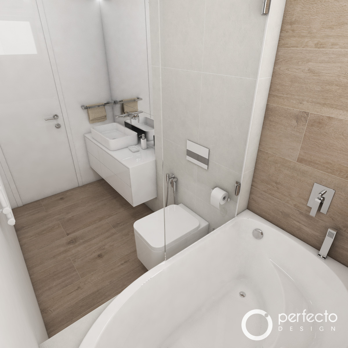 modernes badezimmer oslo perfecto design. Black Bedroom Furniture Sets. Home Design Ideas