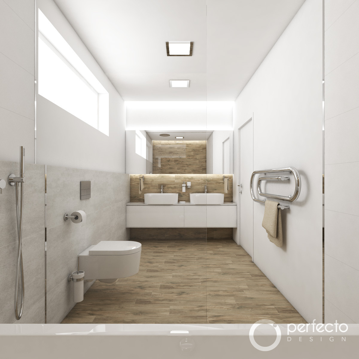modernes badezimmer screen perfecto design. Black Bedroom Furniture Sets. Home Design Ideas