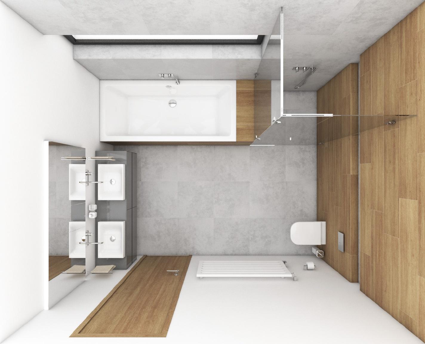 Modernes badezimmer gris perfecto design - Moderne badezimmer grundrisse ...