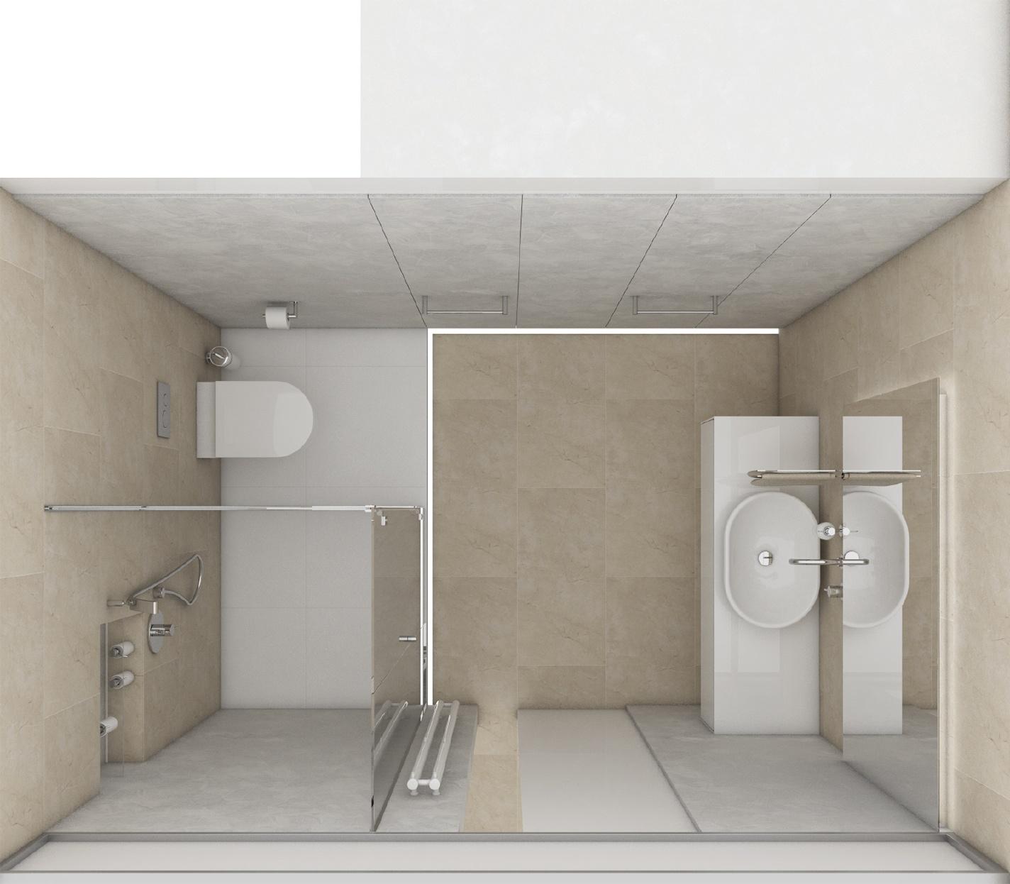Modernes badezimmer halo perfecto design - Moderne badezimmer grundrisse ...