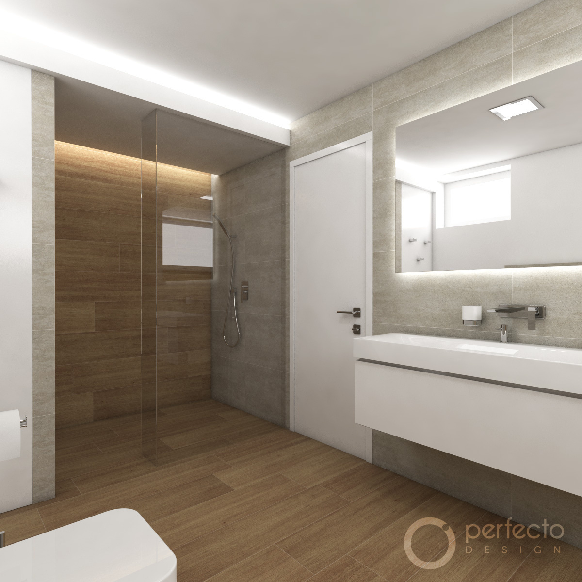 modernes badezimmer stanton | perfecto design - Modernes Badezimmer