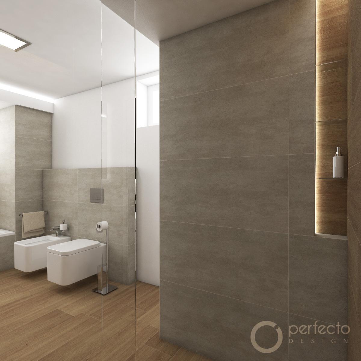 Modernes Badezimmer STANTON - Visualisierung