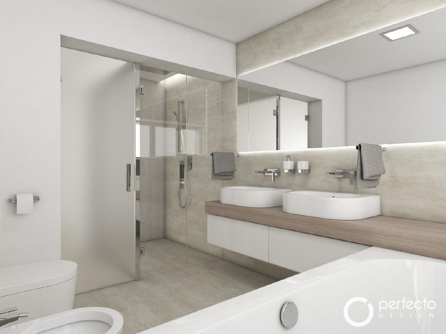 modernes badezimmer imola | perfecto design, Badezimmer