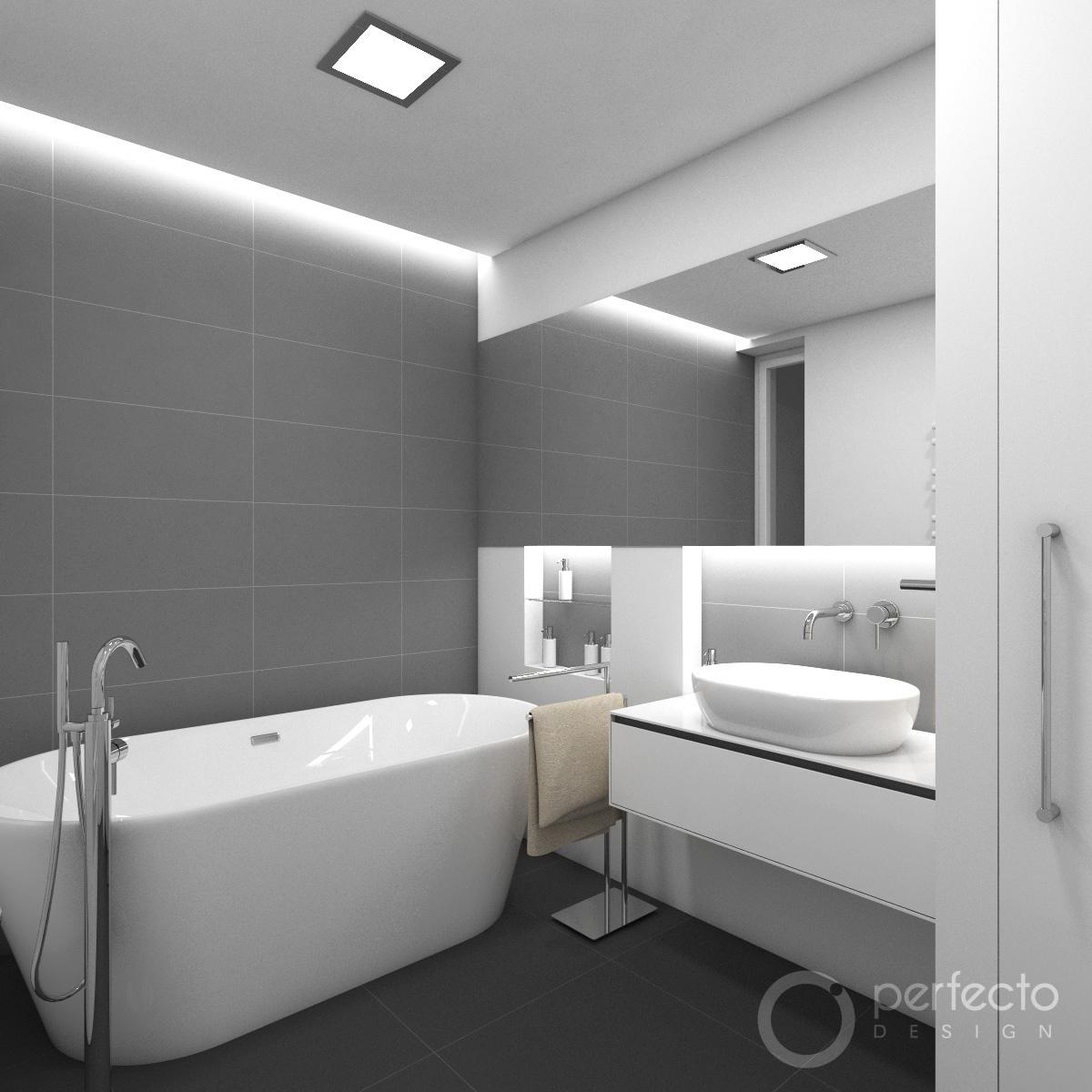 Modernes Badezimmer TORONTO  Perfecto design