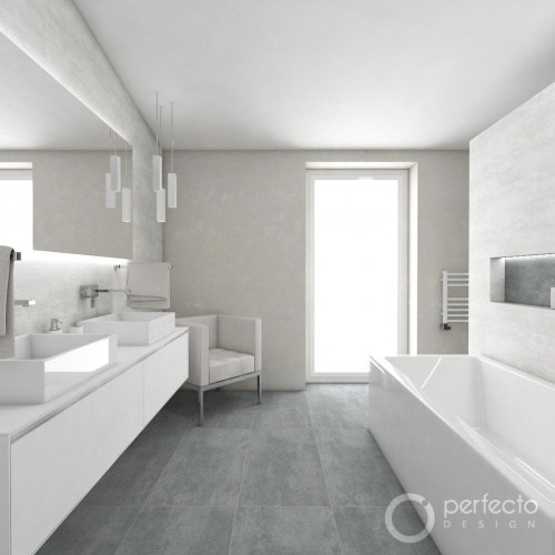 Modernes Badezimmer CASHMERE | Perfecto design