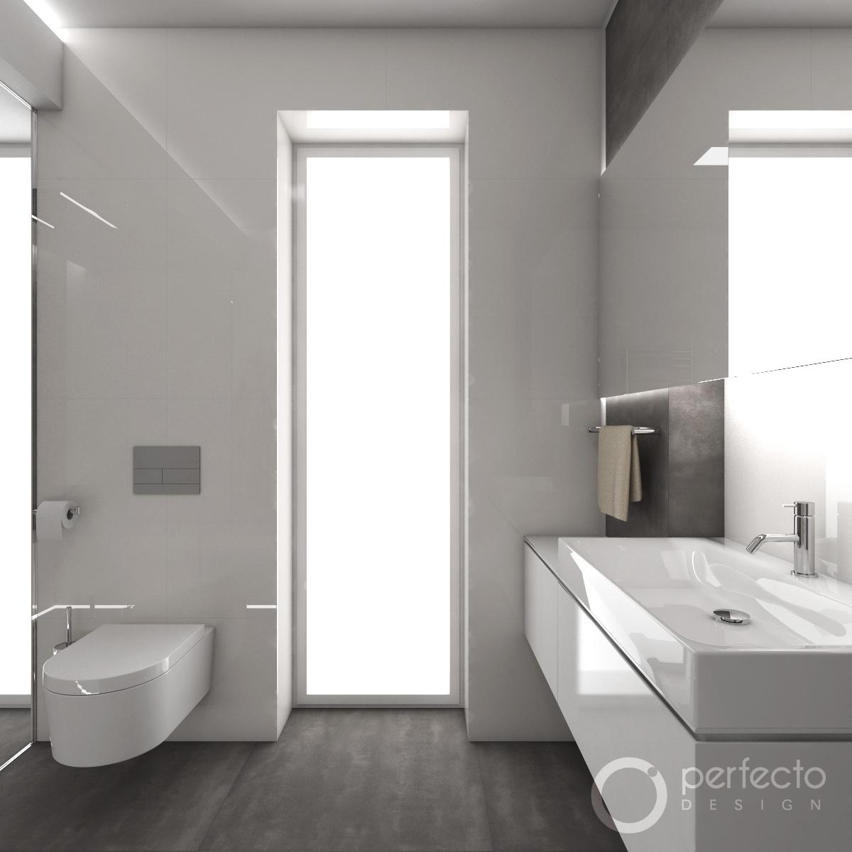 Modernes Badezimmer MINIMAL  Perfecto design