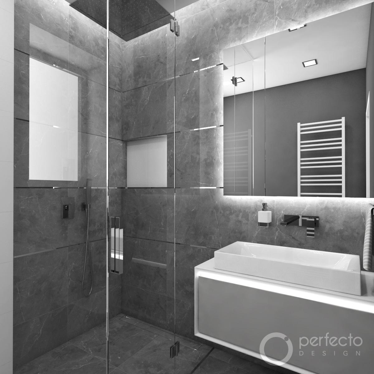 Modernes Badezimmer PADOVA | Perfecto design