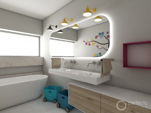 Kinder-Badezimmer SWING | Perfecto design