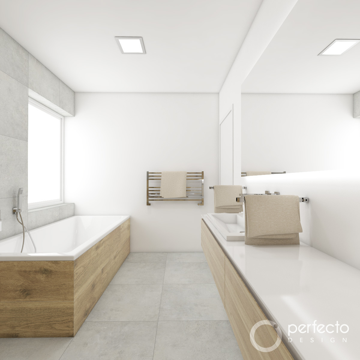 natur-badezimmer alpine | perfecto design, Badezimmer