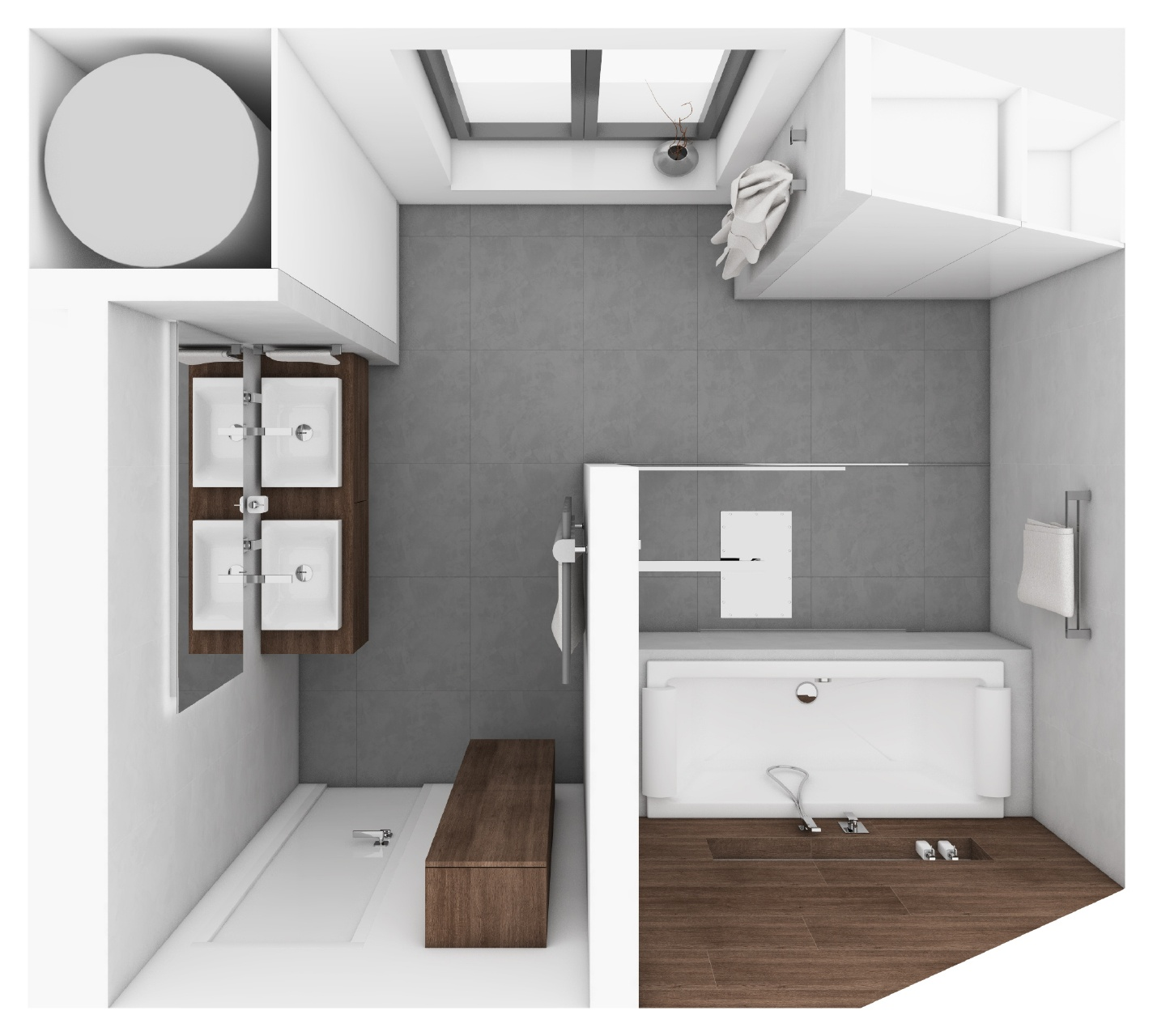 Modernes badezimmer breeze perfecto design - Moderne badezimmer grundrisse ...